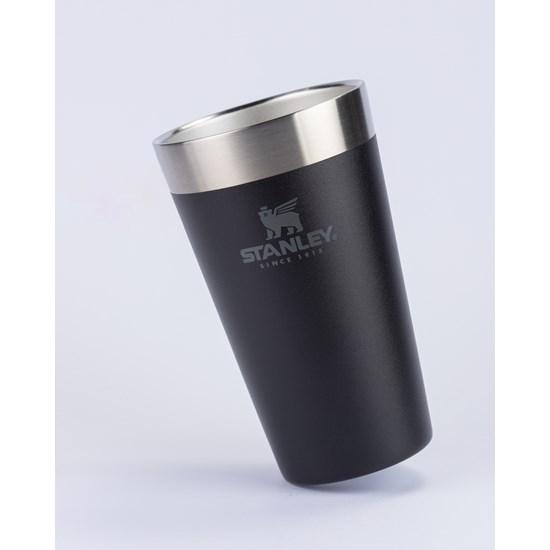 Copo Térmico de Cerveja Matte Black| 473ML