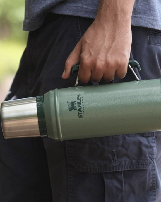 Garrafa Térmica Classic 1L - Hammertone Green