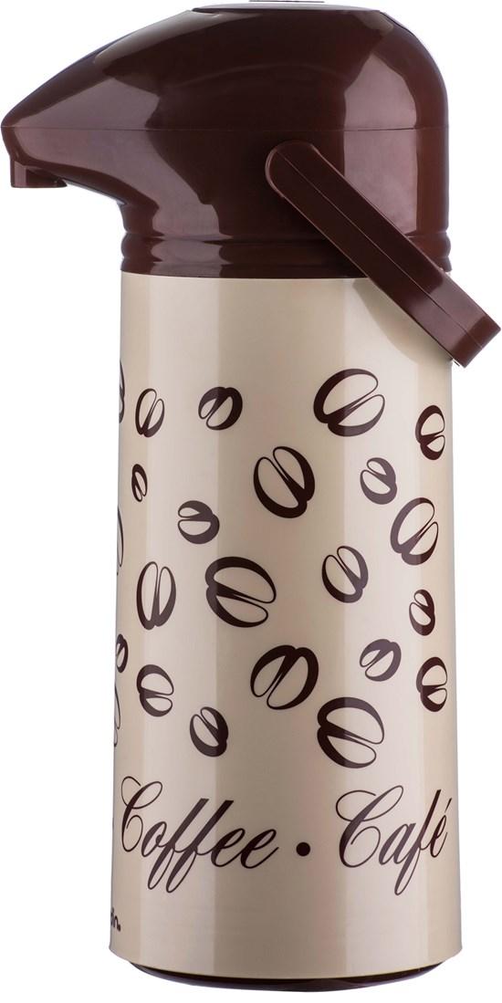 Garrafa Térmica Suprema Pressão Coffee 1,0L